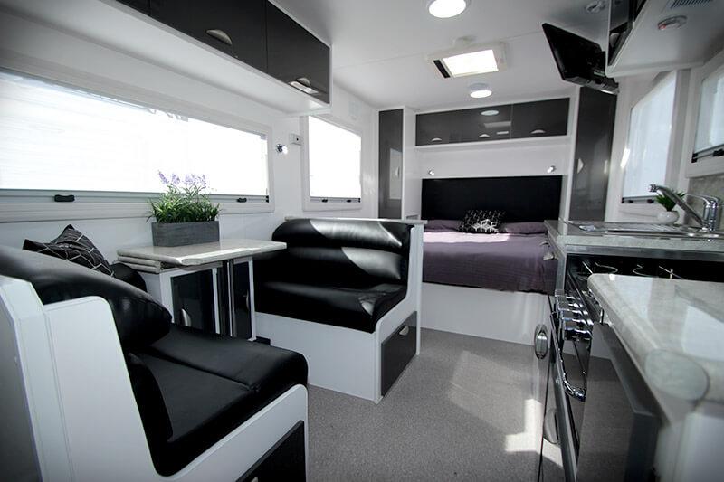modern  caravan interior